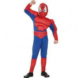 D. 7-9 SPIDER HERO MUSCULOSO