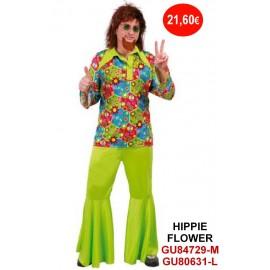 D. HIPPIE HOMBRE FLOWER POWER T M