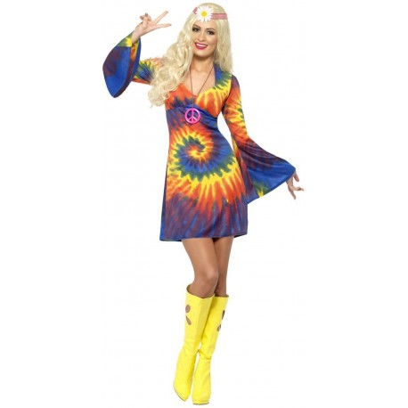 D. HIPPIE MUJER 60´S T S